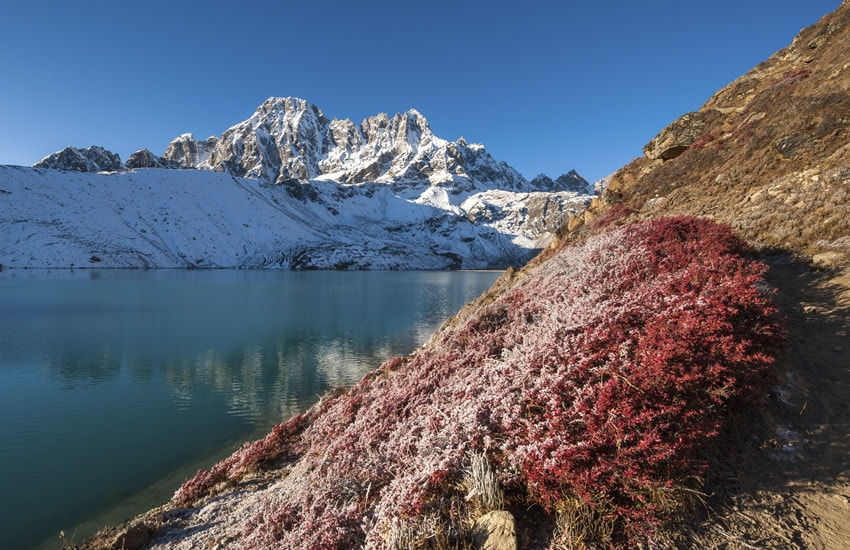 Gokyo ed il Campo Base dell'Everest