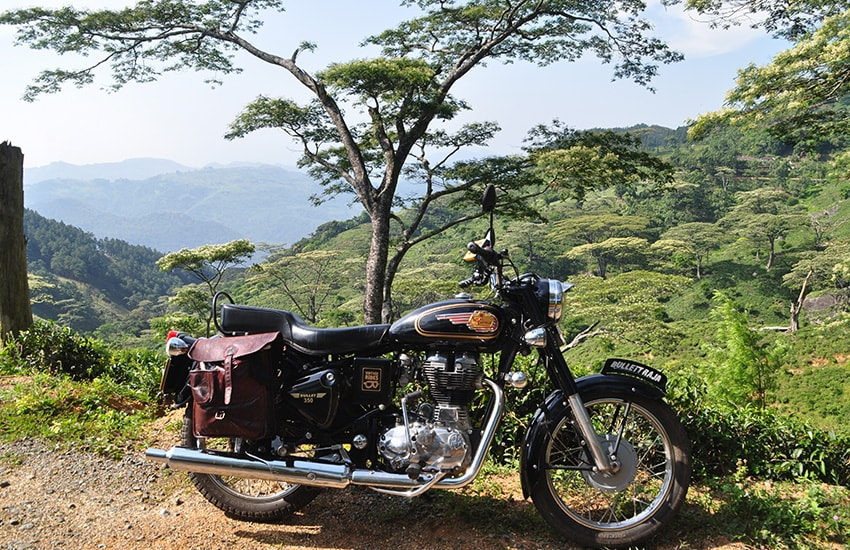 Le Sri Lanka en Royal Enfield