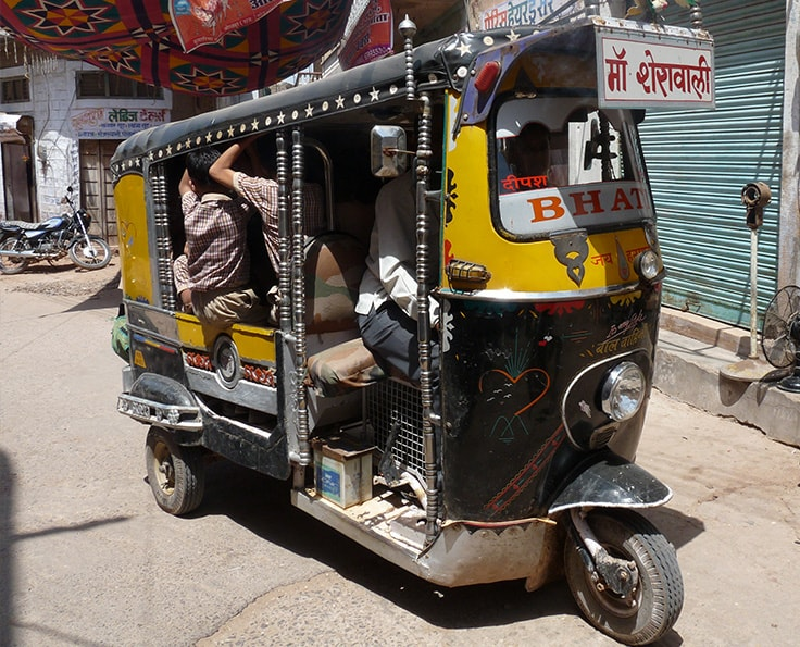 Getting around in India