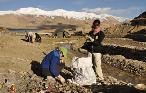 Ladakh cleaning trek