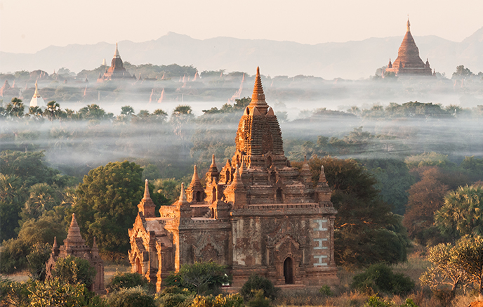 Monuments to see in Myanmar