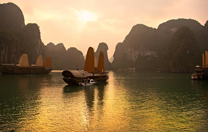 The most beautiful landscapes in Vietnam
